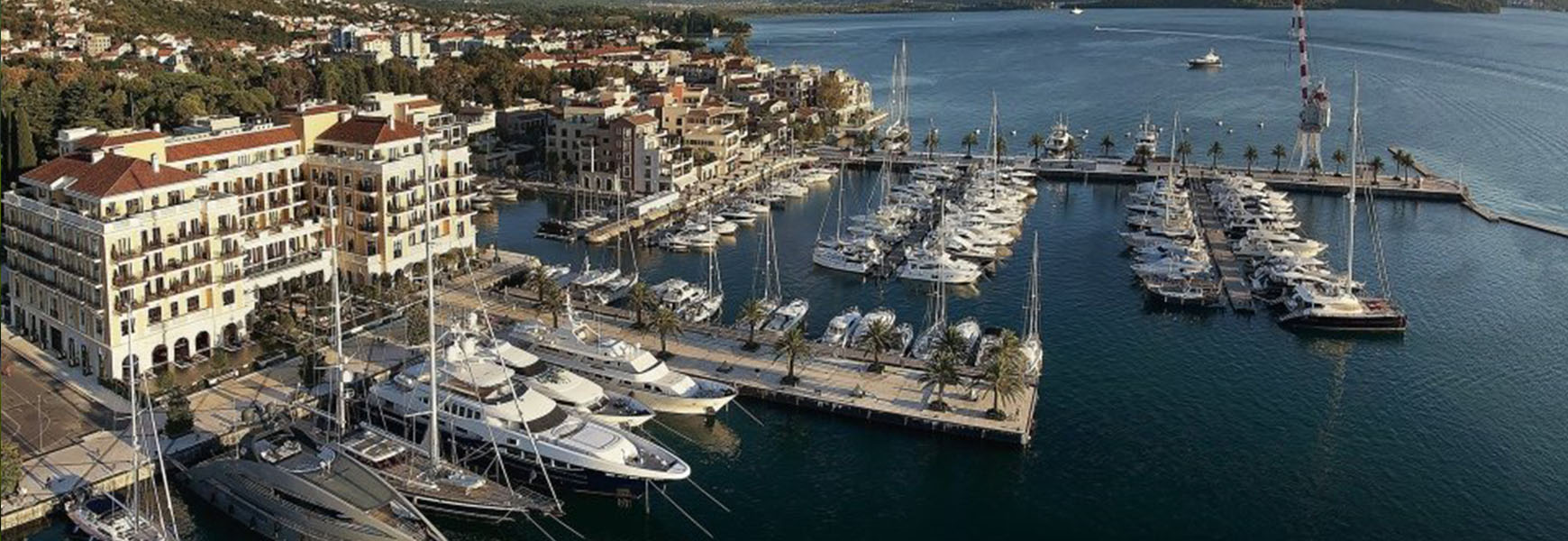 The superyacht haven of Porto Montenegro is a hidden paradise on the Adriatic