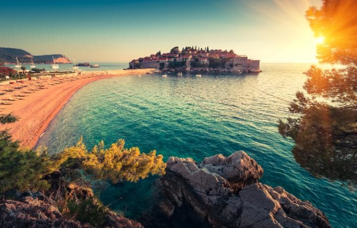 Beautiful European beaches with World Heritage Sites on their doorstep