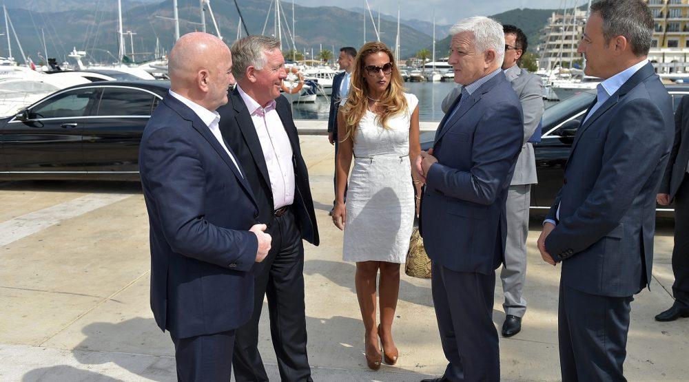 Markovic in Porto Montenegro: Historic milestone in Montenegro's tourism