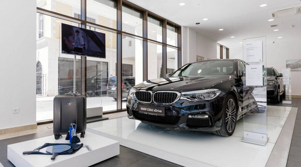Luxury location for a premium brand: BMW Store opened in Porto Montenegro