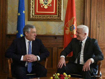 Tajani: EU ready for Montenegro's accession