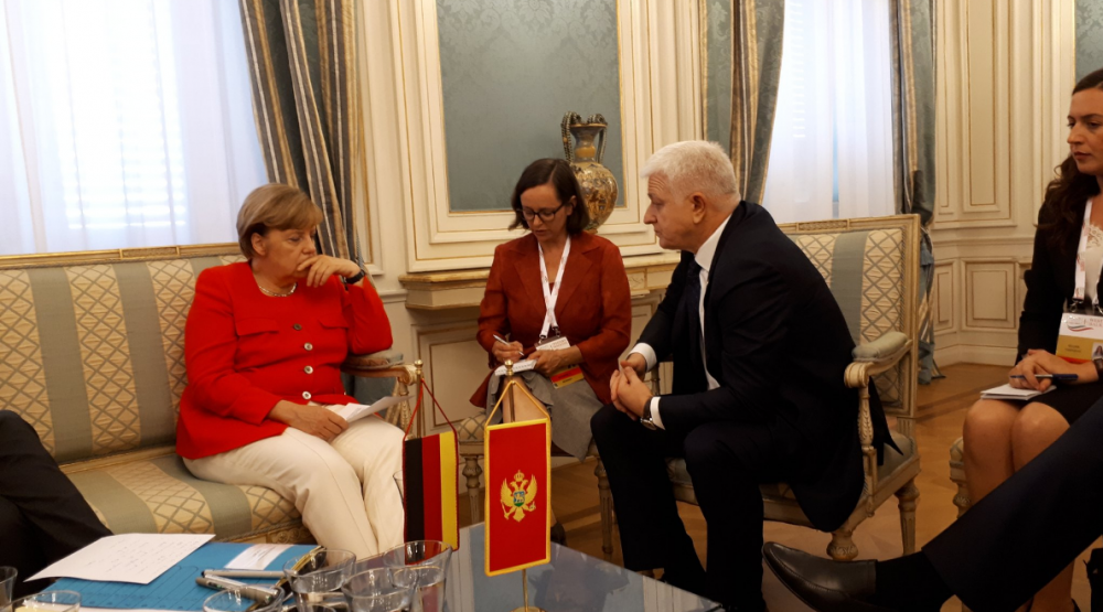 Markovic with Merkel: Now is a real opportunity to come to Montenegro