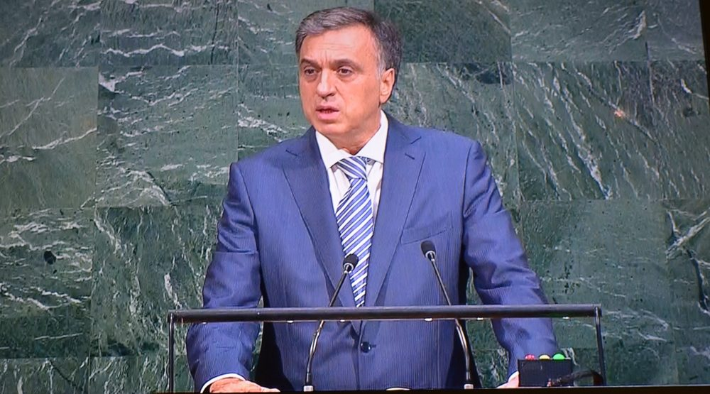 Vujanovic at UN GA: Montenegro contributes to peace and security