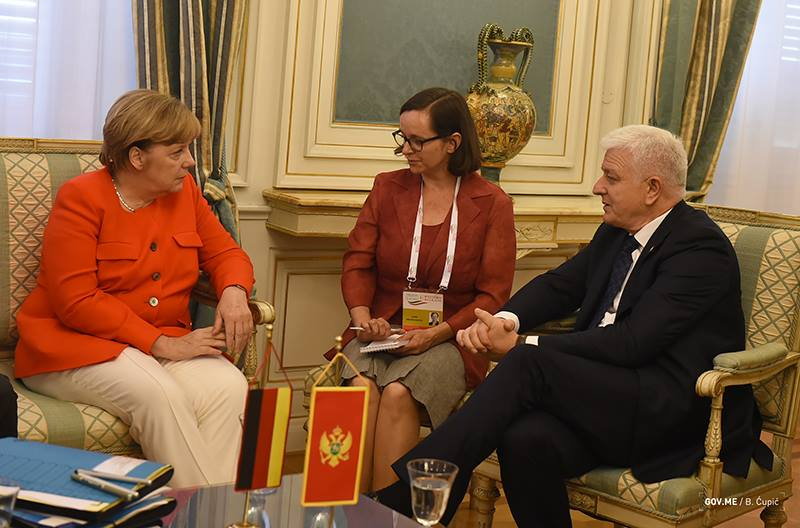 Markovic congratulated Merkel: Montenegro is your reliable partner