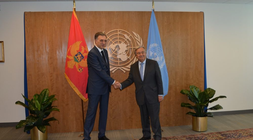 Vujanovic in New York: Montenegro gets UN support