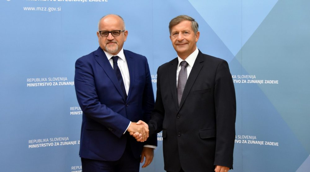 Darmanovic-Erjavec: Friendly relations between Montenegro and Slovenia