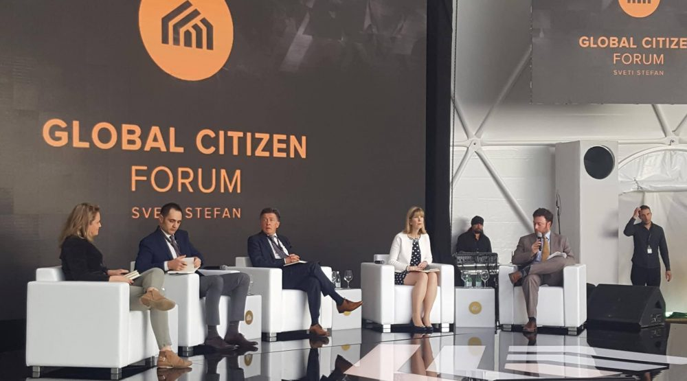 The second day of the Global Citizen Forum
