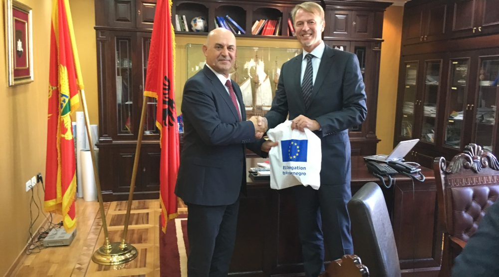 The delegation of EU ambassadors visited Ulcinj