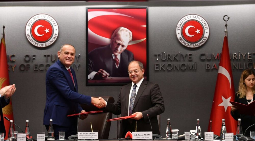 Turkish companies ready to invest in Montenegro