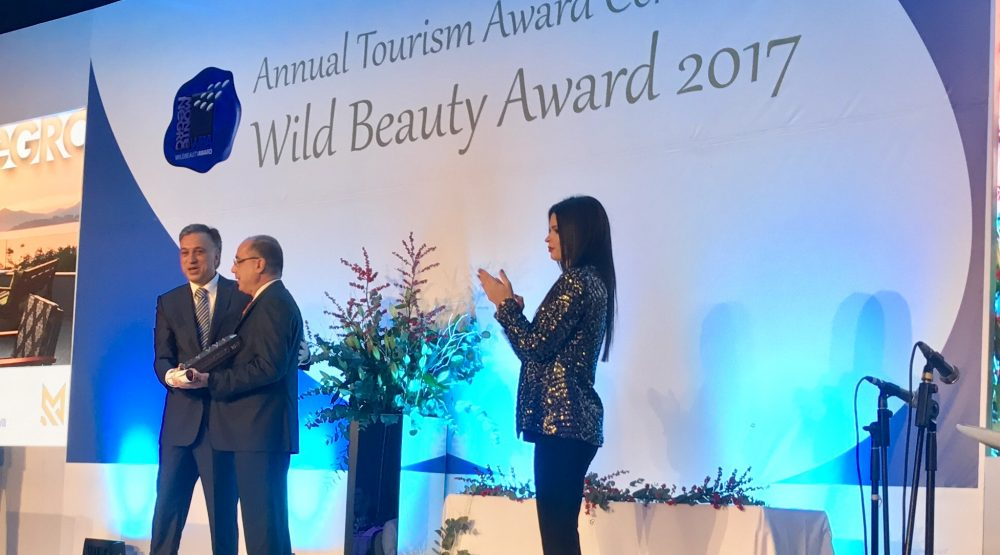 The best hotel in Montenegro: Maestral won Wild Beauty Award 2017