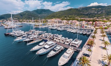 All beauty of Montenegro: Tivat city of the month on Lufthansa's website