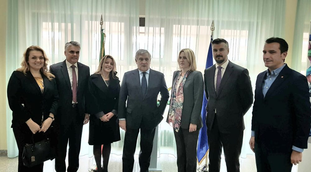 Tajani: We want the Balkans in the European family