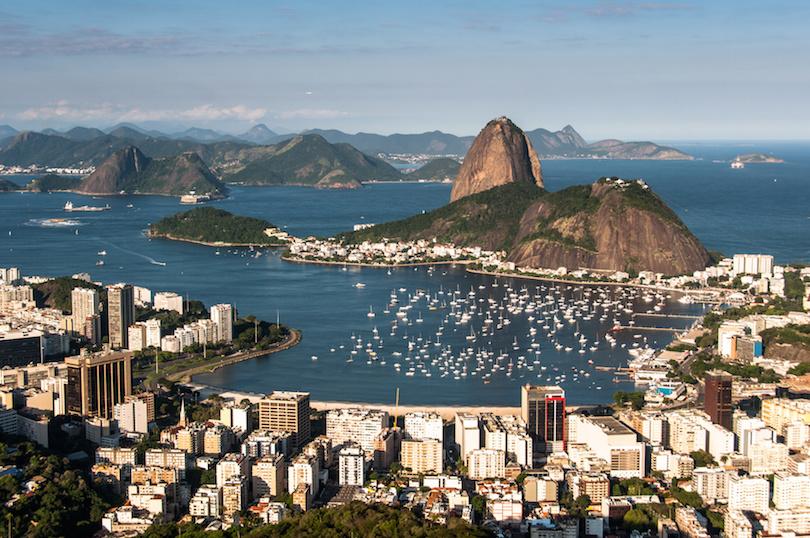 Rio de Janeiro and Sugarloaf Mountain