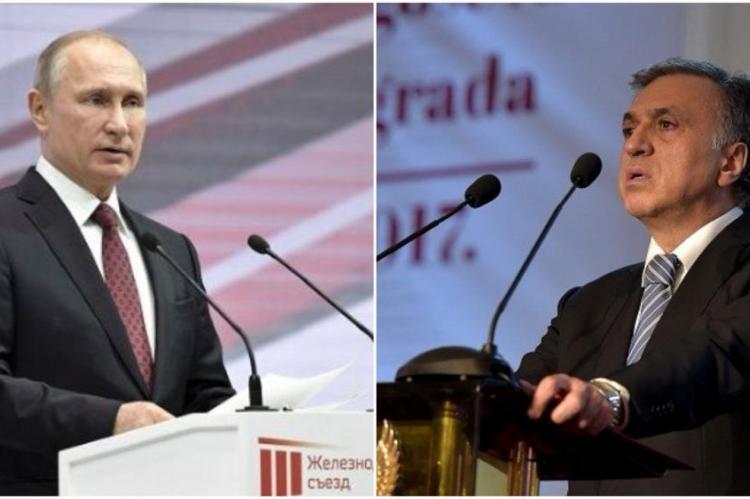 Vujanovic congratulated Putin