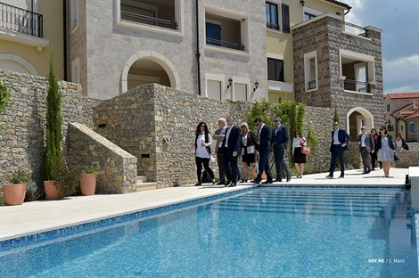 PM Marković at official launch of Hotel Chedi on Luštica
