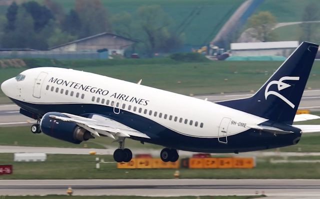 Montenegro Airlines posts record July figures
