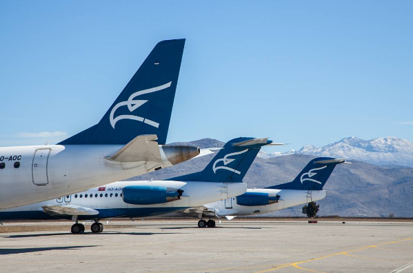 Montenegro Airlines sets new record