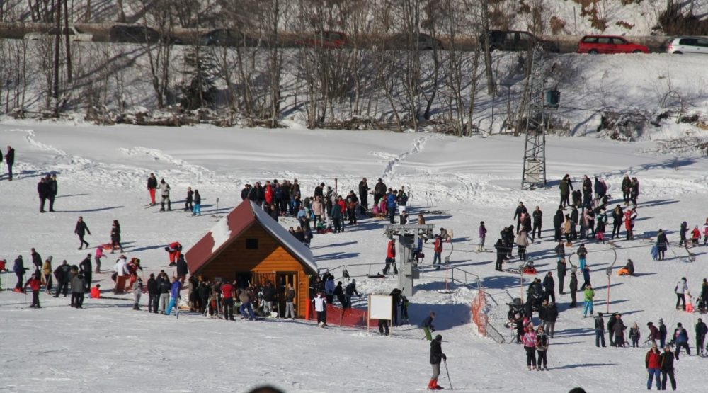 60-km ski runs this year's winter season