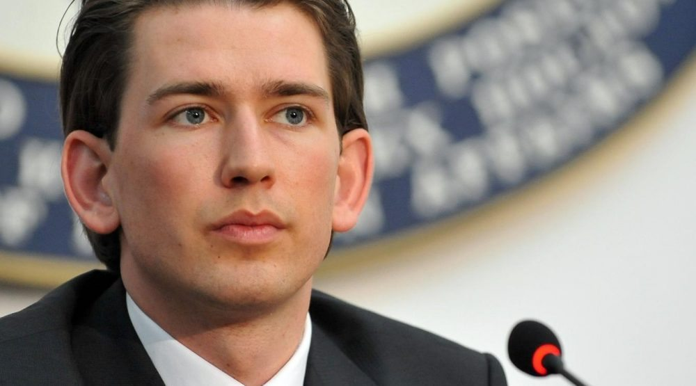 Sebastian Kurz to open conference in Budva