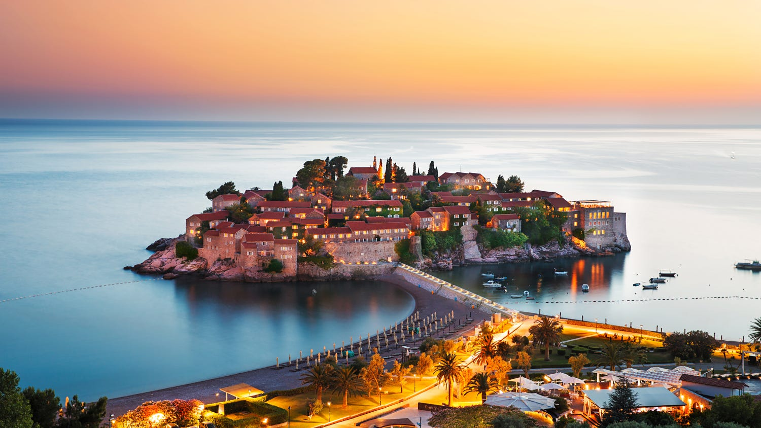 Aman Sveti Stefan for a luxury vacation