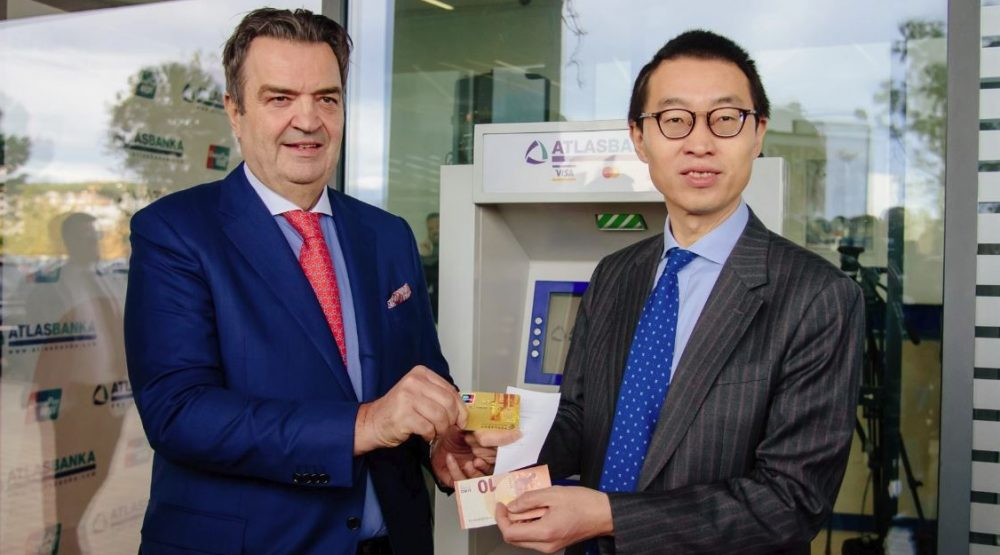 First-ever UnionPay card transaction in Montenegro