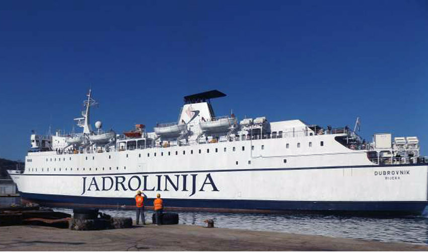 Croatian ship 'Dubrovnik' to take over Bar-Bari line