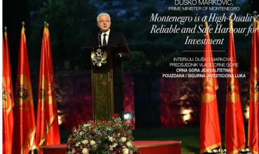 Marković to investors: Invest in Montenegro, with NATO membership, we're raised safety level