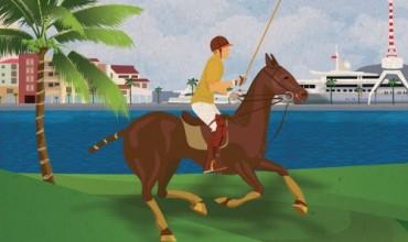 Polo spectacle in Porto Montenegro