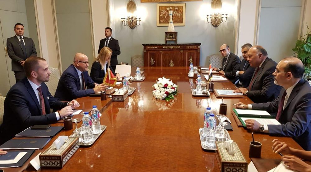 Darmanović invites the Egyptian investors to.come in Montenegro