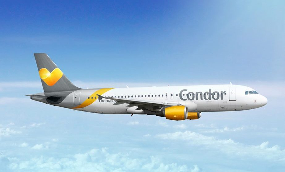 Condor will fly from Frankfurt to Tivat from 1st May
