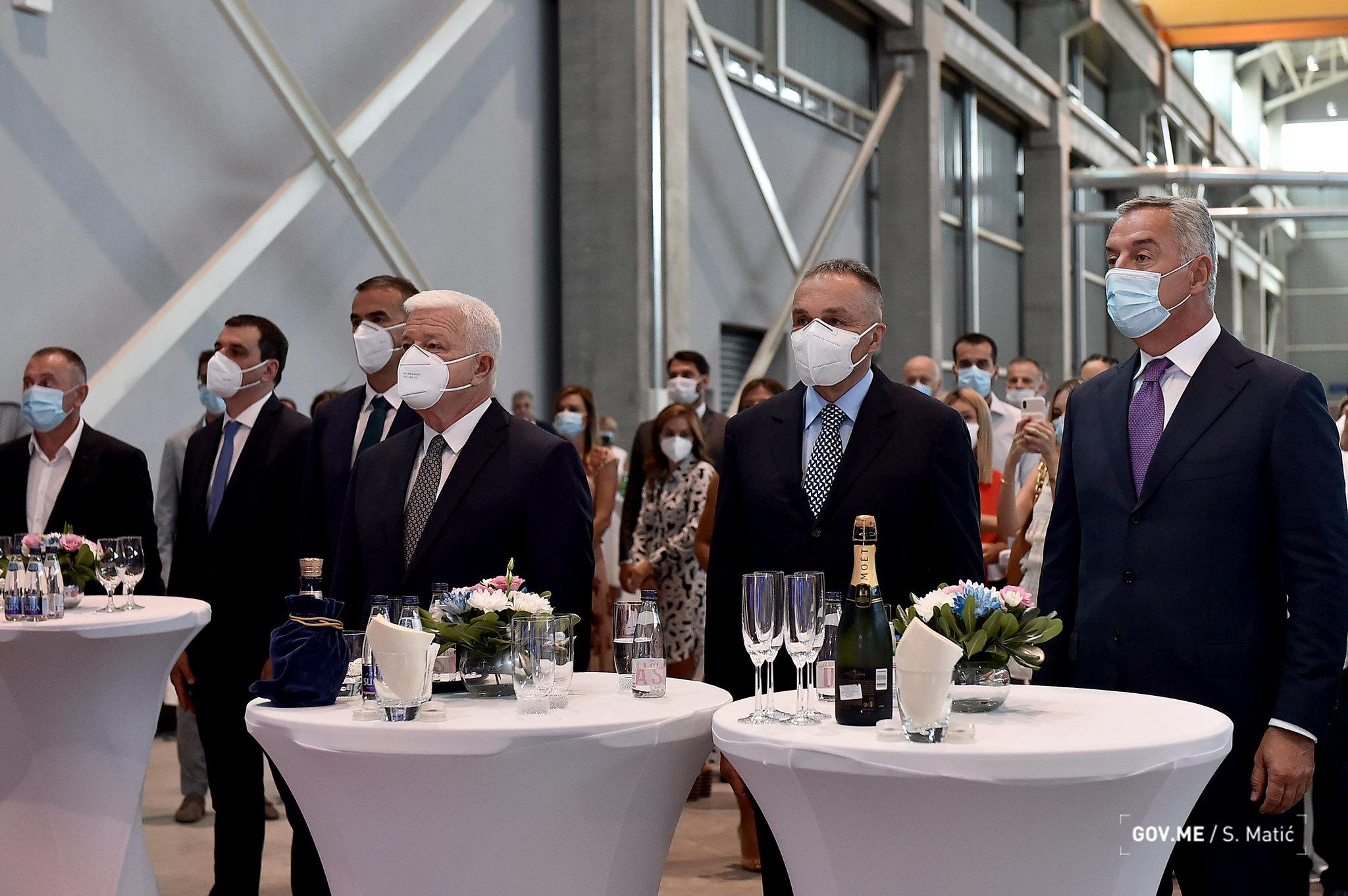UNIPROM: opening of aluminium billets factory